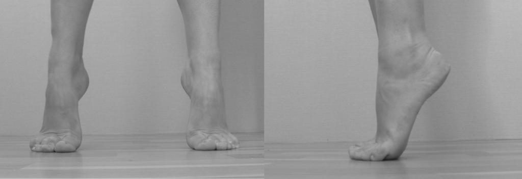 Как сделать подъем на ноге выше